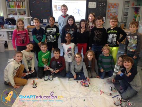 Elektronik und Robotik in der Primarschule Rebstein