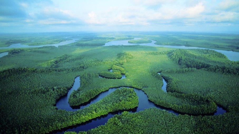 A Bacia do Rio Congo: Lar do rio mais profundo do mundo