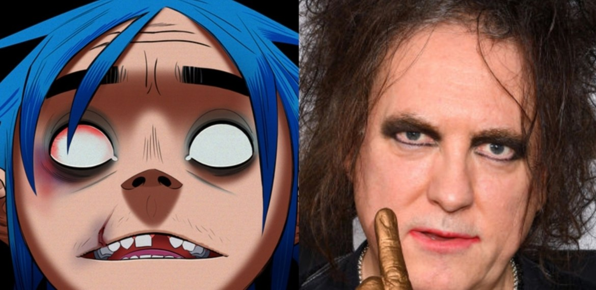 Gorillaz and Robert Smith