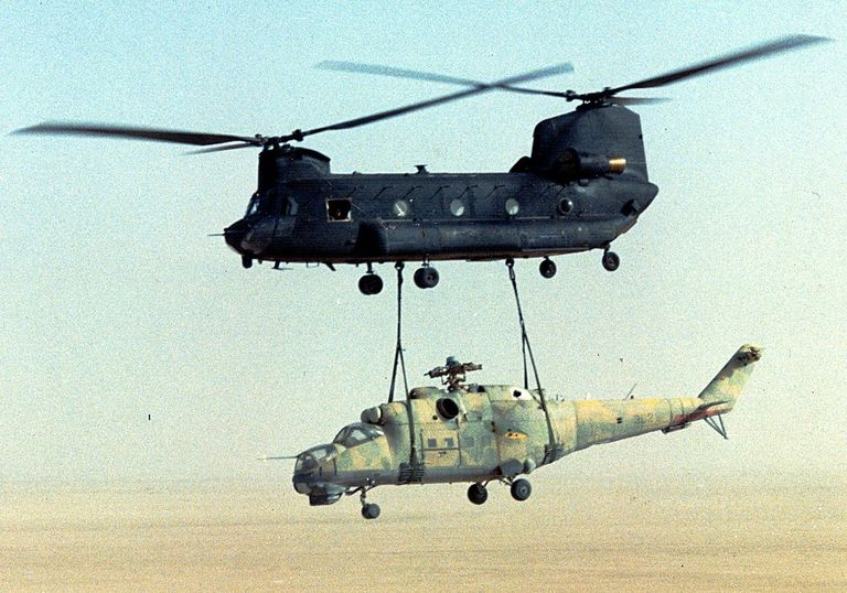 us army 160th soar a ch 47 sling load a mi 24 out of chad operation mount hope iii 1599157087