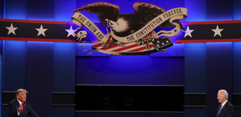 Debate presidencial: Biden e Trump deixam eleitores com uma escolha consequente
