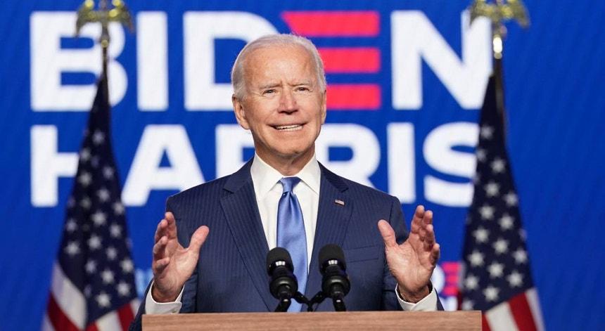 Joe Biden é o Presidente eleito dos EUA