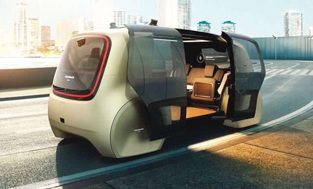 driverless robo taxi