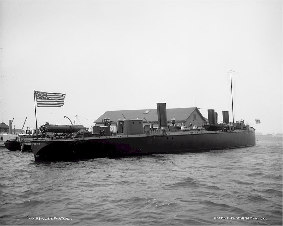 USS Porter TB 6 October 3 1897
