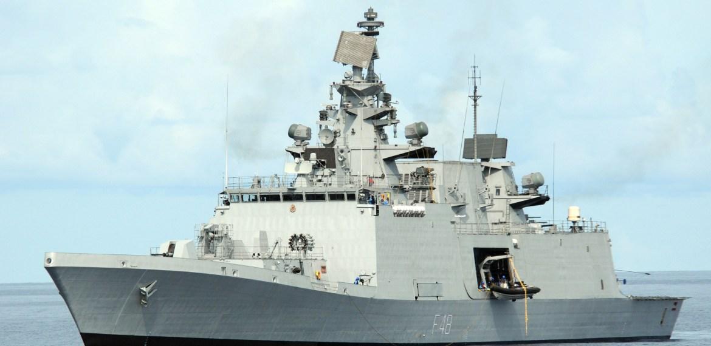 Marinha indiana participará do exercício marítimo multilateral La Pérouse