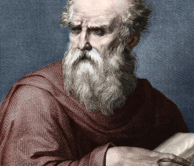 portrait of vitruvius roman architect who lived in the 1st century bc unknown