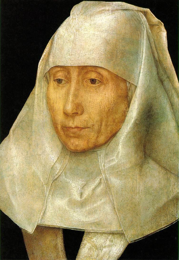 Portrait of an Old Woman Hans Memling