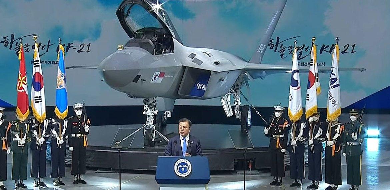 A Coreia do Sul acaba de revelar seu novo Caça KF-21 Boramae