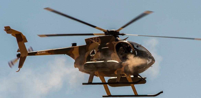 Os EUA transferem parte do apoio afegão do MD 530F aos Emirados Árabes Unidos