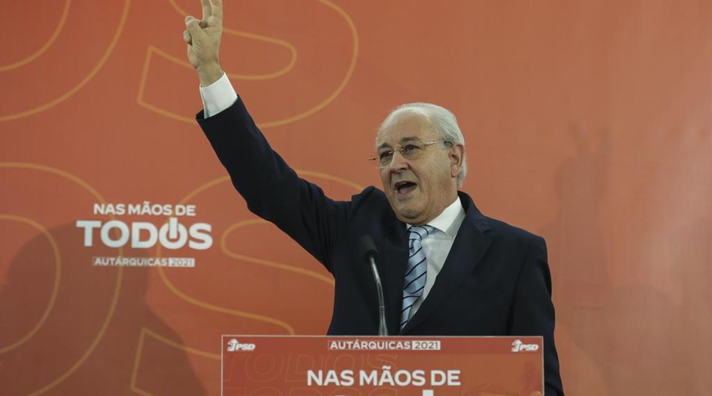 """Rui Rio. """"PSD teve um excelente resultado"""""""