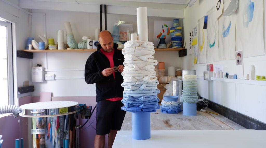 As esculturas contemporâneas do artista cerâmico Steven Edwards
