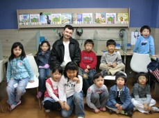 Teaching at an academy in Seoul