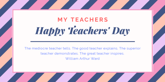 Teachers' Day 2019