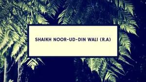 Sheikh Noor-ud-Din Wali