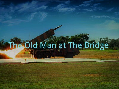 Old Man at The Bridge Questions Answers 7