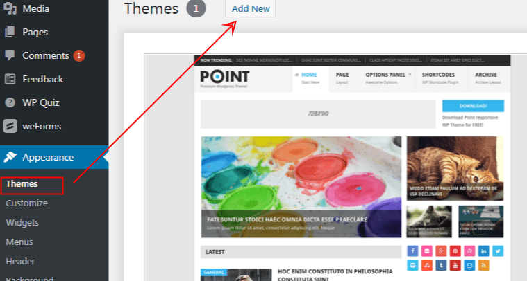 How to add a new theme to your wordpress site - smart entrepreneur blog