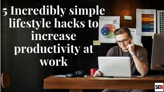 a brooding business owner - lifestyle hacks to increase productivity