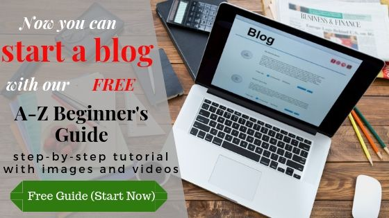 free guide to start your wordpress blog now
