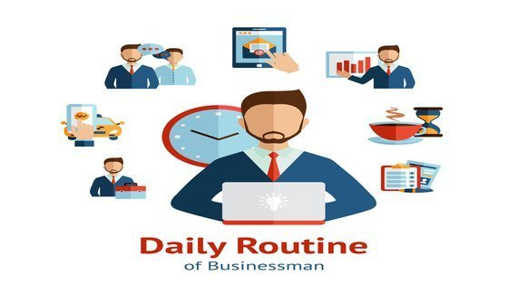 daily routine of a smart entrepreneur using time tracking software
