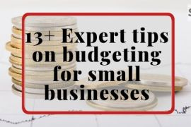 budgeting for small businesses