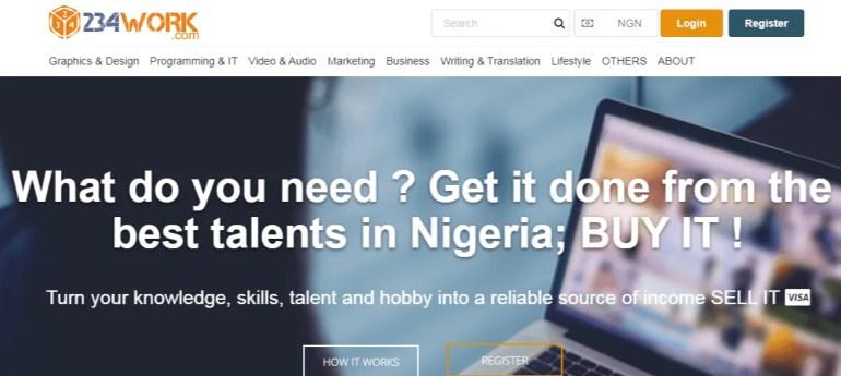 234work -nigerian freelance website
