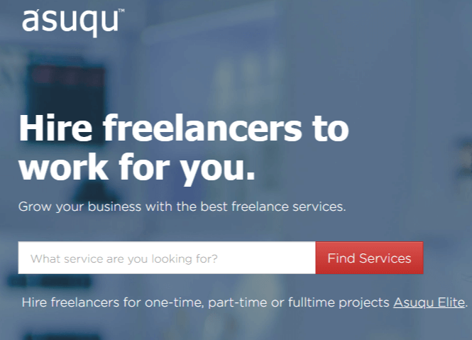 Asuqu- best freelance marketplace for Nigerians
