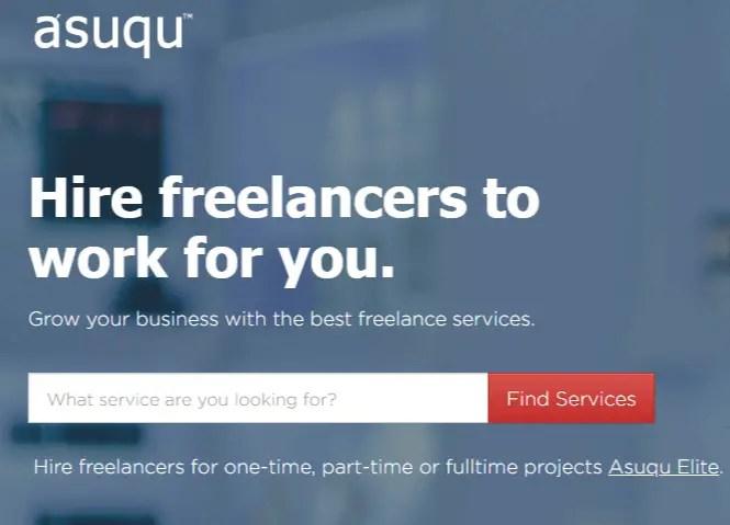 Asuqu- best freelance marketplace for Nigerians