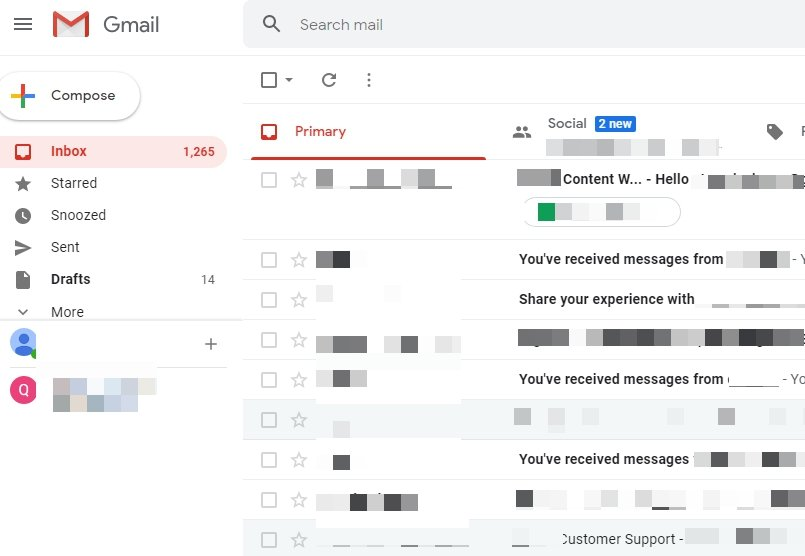holiday email marketing ideas to boost sales for your small business - gmail