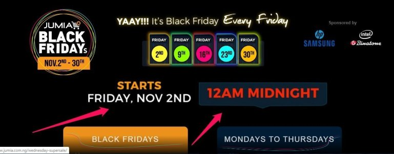When is Jumia Black Friday 2019? +How to Prepare for the Biggest Sales Rush 1