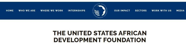 The united states African development foundation - international grants for Nigerian Businesses