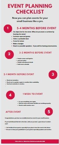 Event Planning Checklist: Plan Your Business Event Like A Pro 2