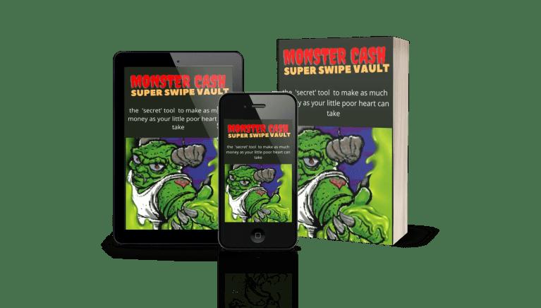 Monster Cash Super Swipe File Vault 1