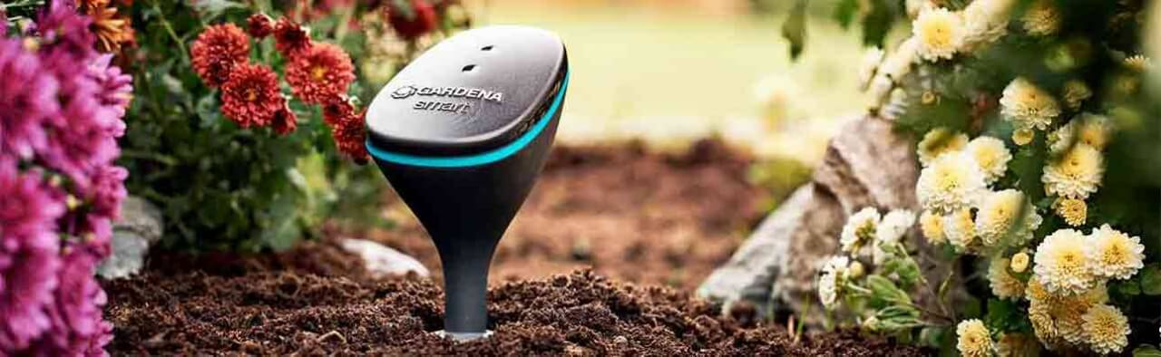 Smarter Garten mit Gardena smart Sensor
