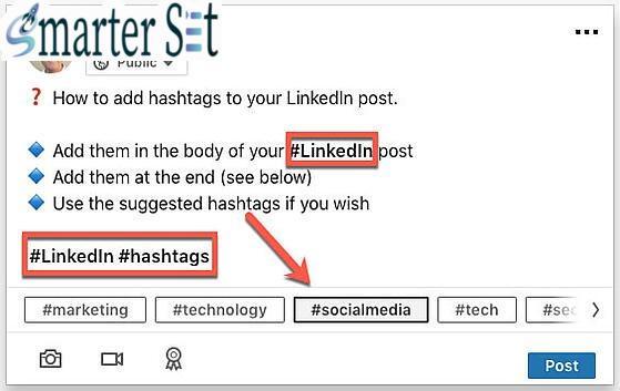 linkedin hashtag post 2