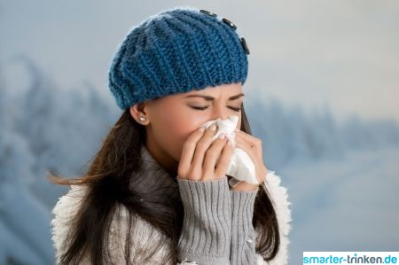 Trinken in der Erkältungszeit