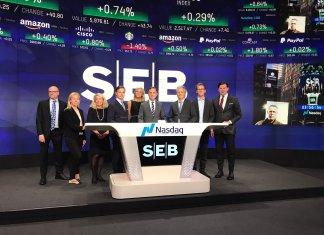 SEB at NASDAQ opening bell