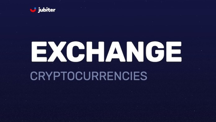 Jubiter Cryptocurrency Exchange