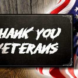 Thank You Veteran's - 2016