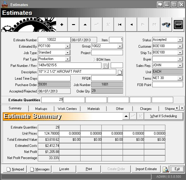 estimating-erp-software-for-manufacturing-data-entry