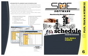 tracking, planning and scheduling