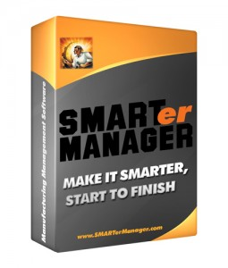 smarter manager manufacturing software box