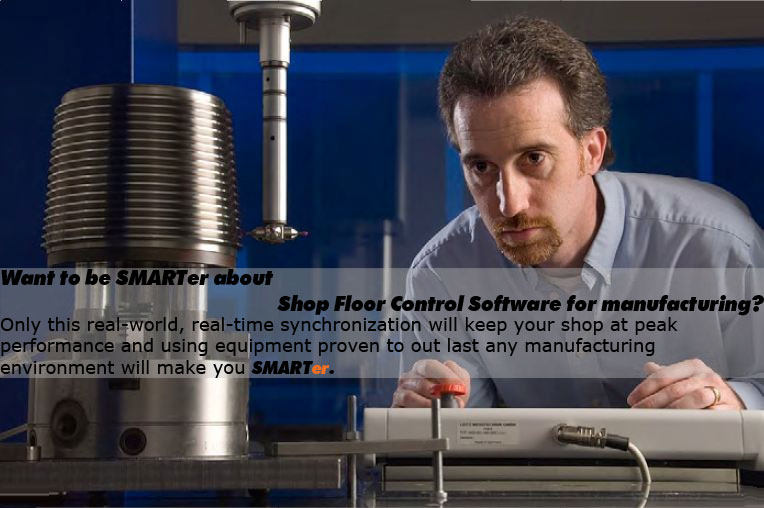 manufacturing shop floor control software