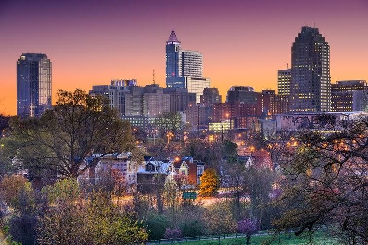 North Carolina Raleigh EN5EED