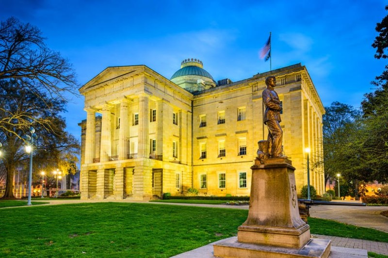 13 North Carolina Raleigh capitol EM4W1T