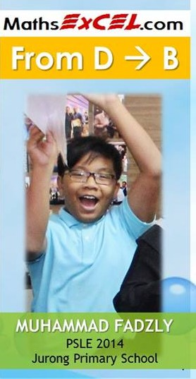2014- P6 Fadzly Jurong Primary School D-B