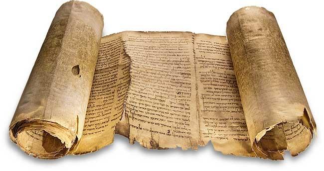 Dead Sea Bible Scroll