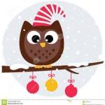 Mortimer owl christmas 2