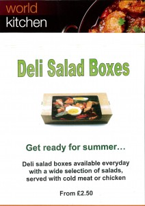 Deli Salad Boxes