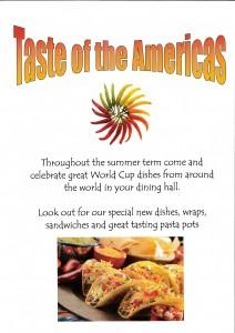 Taste of the Americas