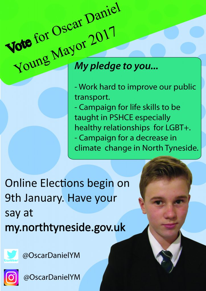Young Mayor Poster